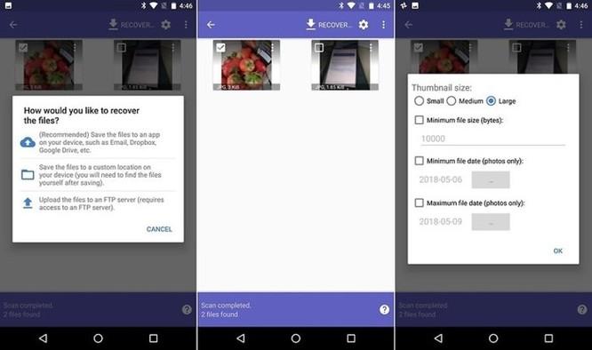 Cách khôi phục dữ liệu ảnh đã xóa trên thiết bị Android ảnh 1