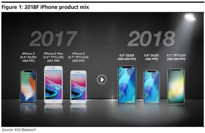 iPhone X Plus sẽ có cùng kích thước với iPhone 8 Plus, màn hình 6.5 inch OLED ảnh 2