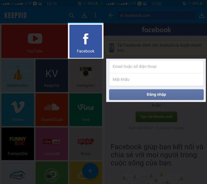 3 cách tải video Facebook chất lượng cao về điện thoại và máy tính ảnh 6