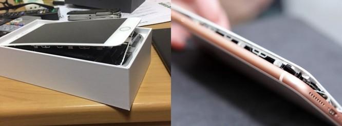 iPhone bất ngờ phát nổ khi thay pin ảnh 1