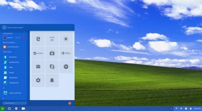 Windows XP sẽ 'lột xác' như thế nào nếu được ra mắt trong năm 2018? ảnh 1