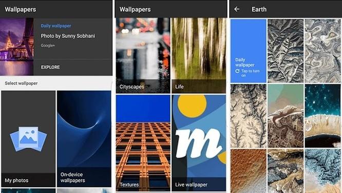 Những ứng dụng cung cấp hình nền tuyệt vời nhất cho 'dế' Android ảnh 1