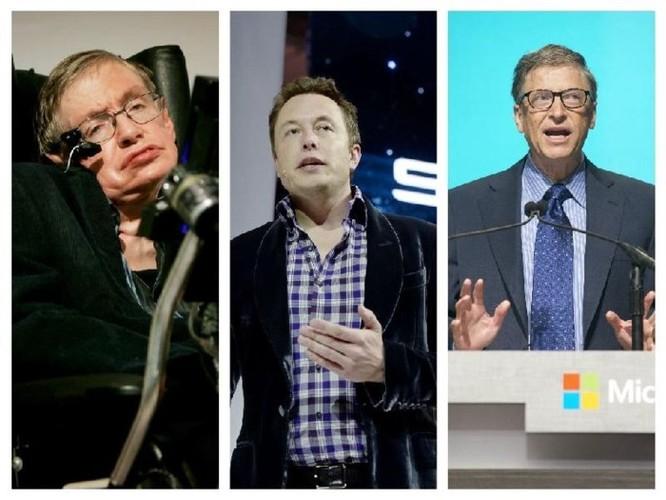 Stephen Hawking, Bill Gates và Elon Musk đều e ngại trí tuệ nhân tạo và robot ảnh 1