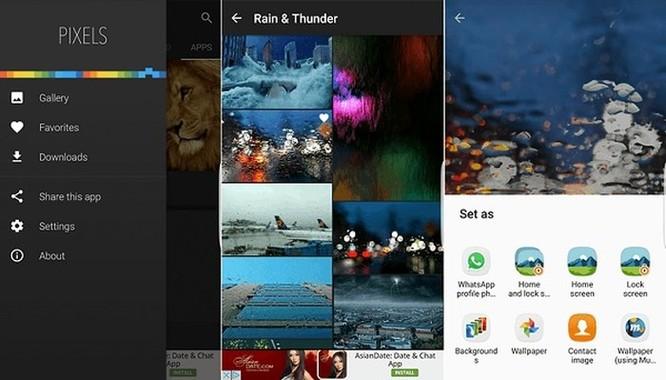 Những ứng dụng cung cấp hình nền tuyệt vời nhất cho 'dế' Android ảnh 2