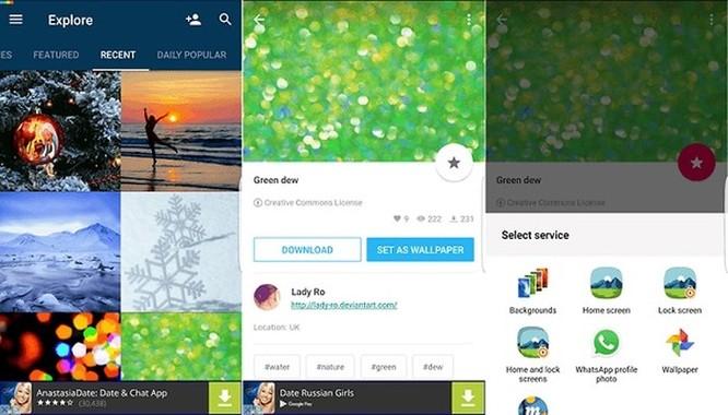 Những ứng dụng cung cấp hình nền tuyệt vời nhất cho 'dế' Android ảnh 4