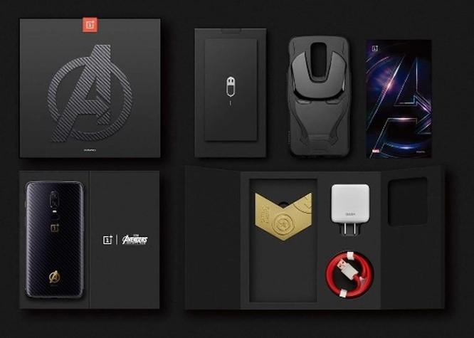 Ngắm phiên phiên bản giới hạn Siêu anh hùng của OnePlus 6 ảnh 10