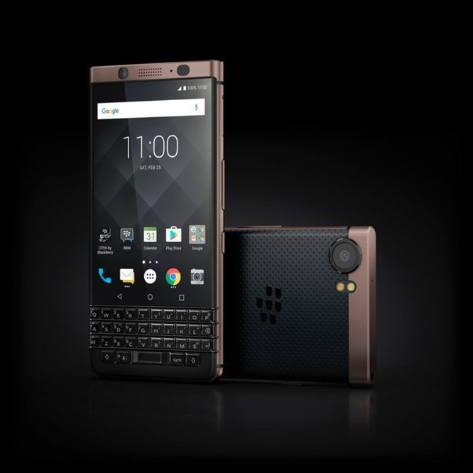 BlackBerry KeyOne phiên bản màu đồng ra mắt thị trường Việt Nam, giá 16,49 triệu đồng ảnh 1