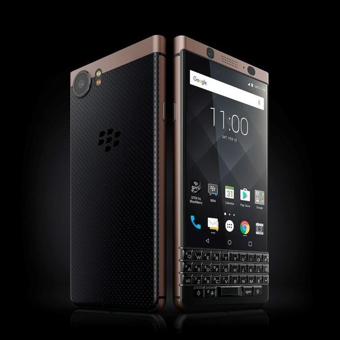 BlackBerry KEYone Bronze Edition chính thức lộ diện ảnh 2