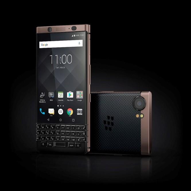 BlackBerry KEYone Bronze Edition chính thức lộ diện ảnh 3