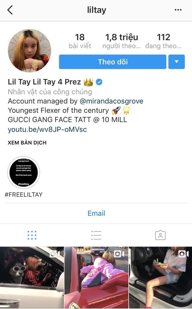 Cuộc sống nổi loạn của cô bé 9 tuổi đang 'hot' trên mạng xã hội Instagram và YouTube ảnh 2