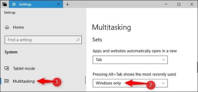 Windows 10 đã thay đổi cách thay đổi hoạt động của tổ hợp phím Alt+Tab ảnh 5