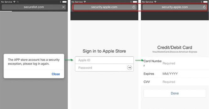 Phần mềm độc hại đánh cắp tài khoản Apple và Facebook ảnh 2