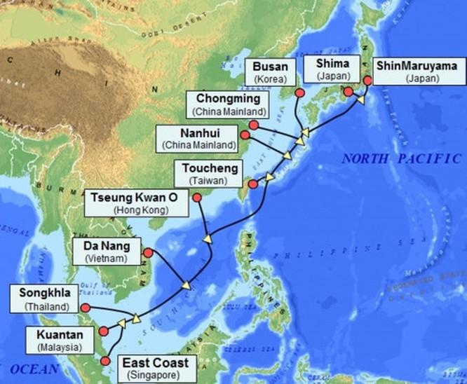 Google, Facebook và Amazon thúc đẩy phát triển các tuyến cáp biển tại Châu Á ảnh 2