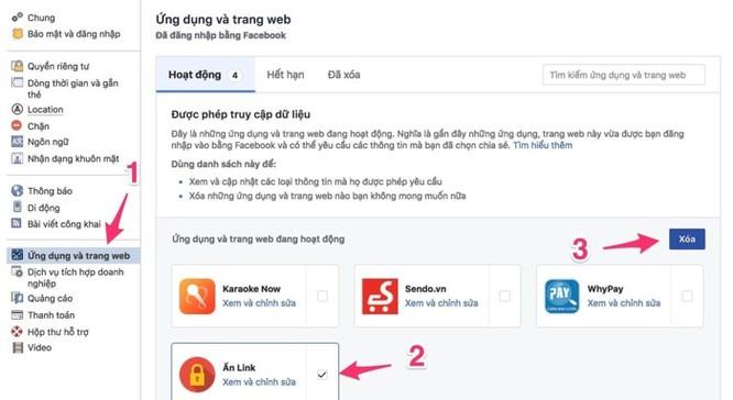 Facebook Đặng Thu Thảo, Khả Ngân, Nam Thư... bị hack ảnh 2