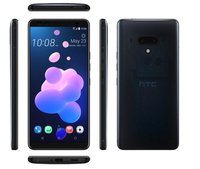 HTC chính thức ra mắt U12+ : Vỏ xuyên thấu, 4 camera, viền khá mỏng, giá 18 triệu ảnh 1