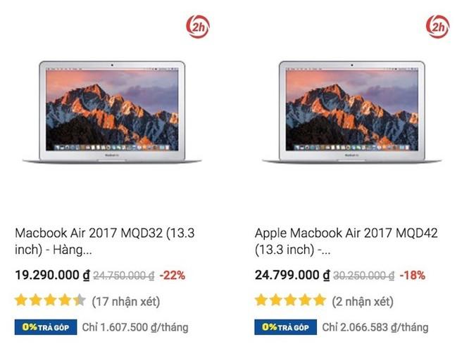 Cách chọn mua MacBook giá rẻ trên mạng ảnh 2