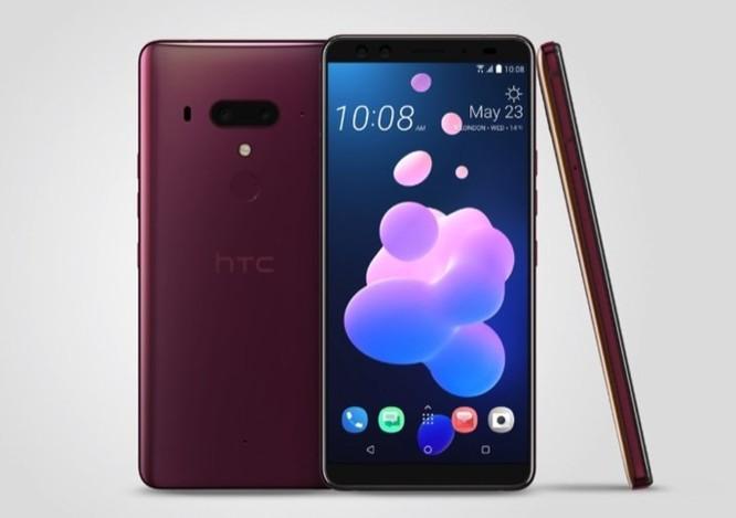 HTC chính thức ra mắt U12+ : Vỏ xuyên thấu, 4 camera, viền khá mỏng, giá 18 triệu ảnh 5
