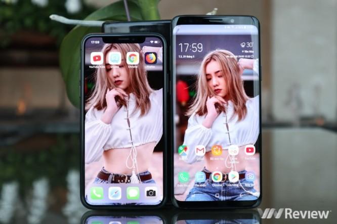 6 điểm Galaxy S9+ trội hơn iPhone X ảnh 1
