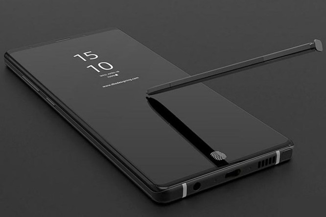 Galaxy Note 9 rò rỉ với bộ nhớ 'khủng' nhất ảnh 1