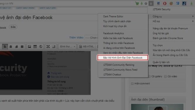 Hướng dẫn bật bảo vệ ảnh đại diện Facebook dù Việt Nam chưa được áp dụng ảnh 2