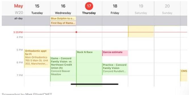 Mẹo dùng lịch iPhone hiệu quả ảnh 3