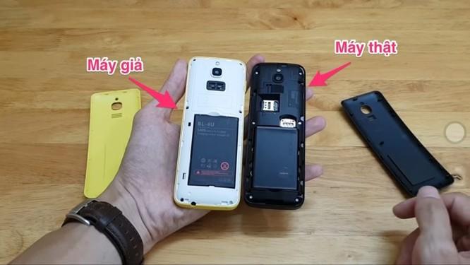 Cách phân biệt Nokia 8810 4G thật và giả ảnh 3