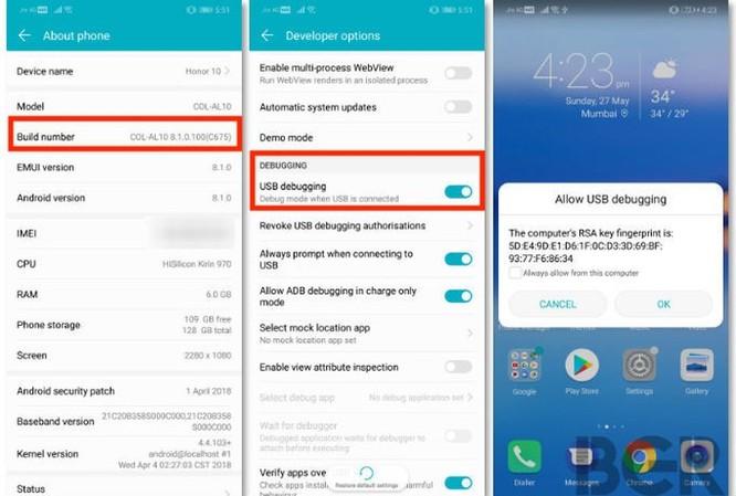 Cách kiểm soát smartphone Android từ điện thoại iPhone ảnh 1