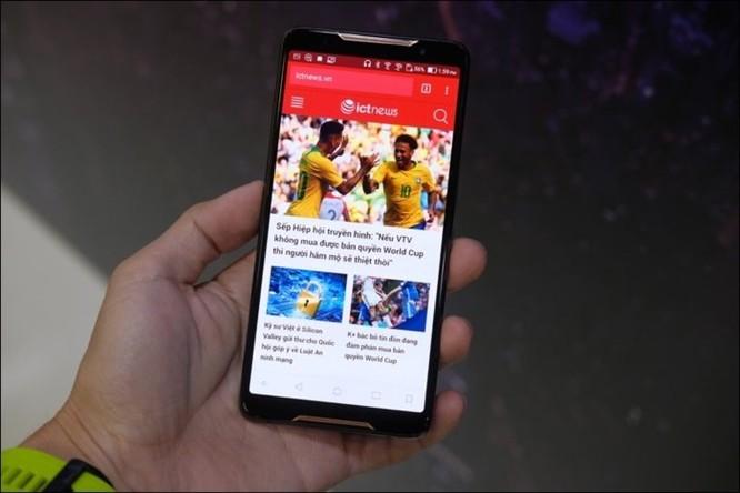 Hình ảnh chi tiết ROG Phone, smartphone chơi game đầu tiên của Asus ảnh 10