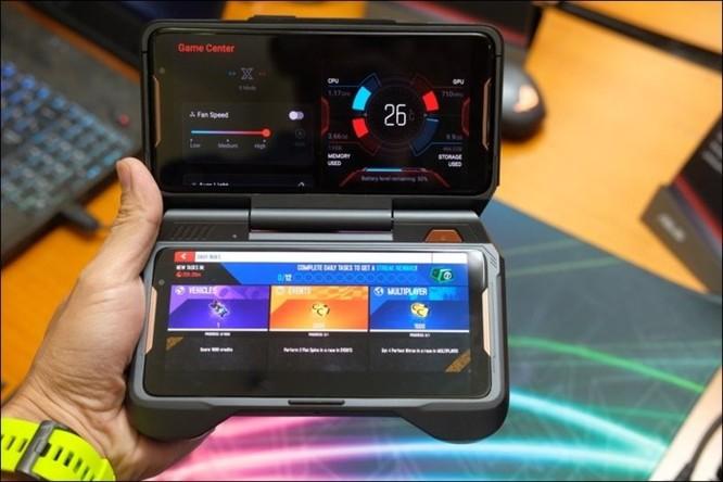 Hình ảnh chi tiết ROG Phone, smartphone chơi game đầu tiên của Asus ảnh 7