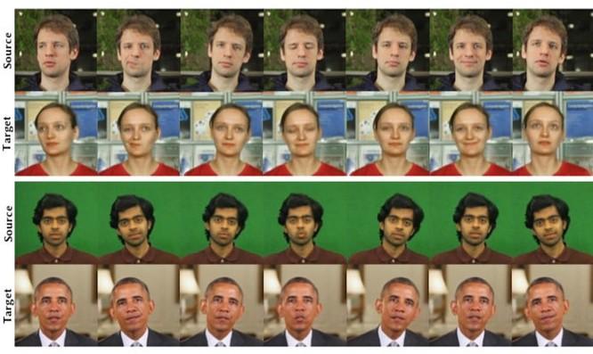 AI nay đã có thể tái tạo cử động khuôn mặt từ người này sang người khác ảnh 1