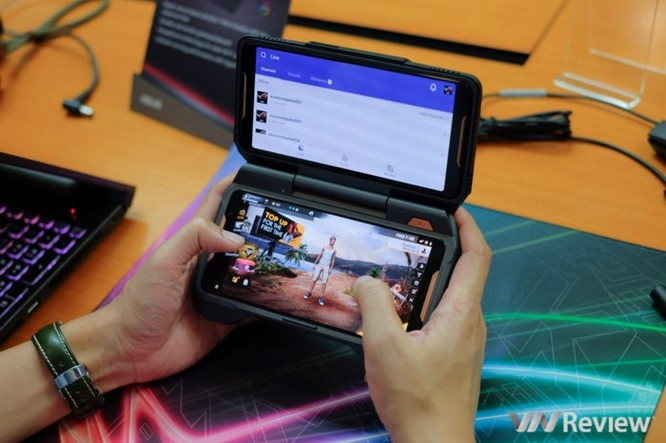 Trên tay ROG Phone - điện thoại chuyên game tối tân của Asus với hàng loạt tính năng độc lạ ảnh 21