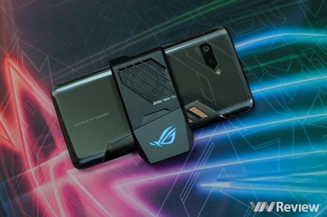 Trên tay ROG Phone - điện thoại chuyên game tối tân của Asus với hàng loạt tính năng độc lạ ảnh 5