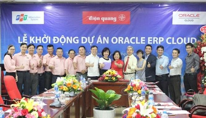 FPT IS triển khai hệ thống quản trị nguồn lực Oracle ERP Cloud cho Điện Quang ảnh 1