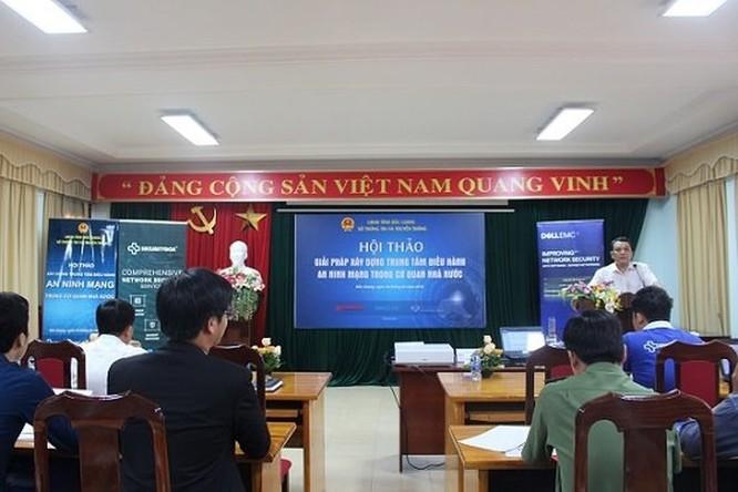 Bắc Giang tìm giải pháp xây dựng Trung tâm điều hành an ninh mạng ảnh 1