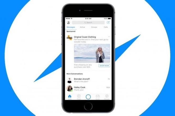 Facebook sẽ áp dụng quảng cáo video tự động trên Messenger ảnh 1