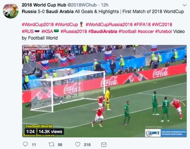 Facebook, YouTube, Twitter chặn các clip, hình ảnh lậu của World Cup 2018 thế nào? ảnh 2