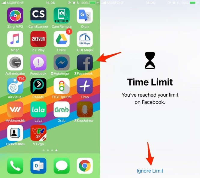 Cách giới hạn thời gian sử dụng iPhone cho trẻ em ảnh 3