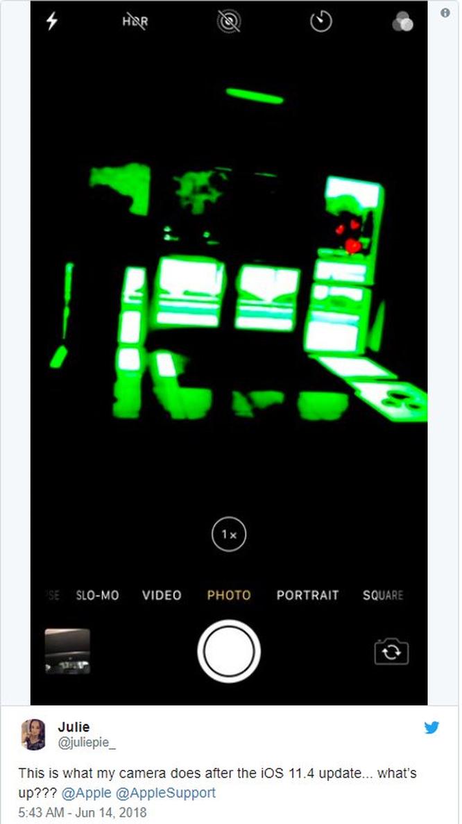 Sau lỗi hao pin, người dùng lại khốn khổ vì iOS 11.4 làm hỏng camera ảnh 4