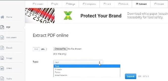 Cách trích xuất Font chữ từ file PDF ảnh 3