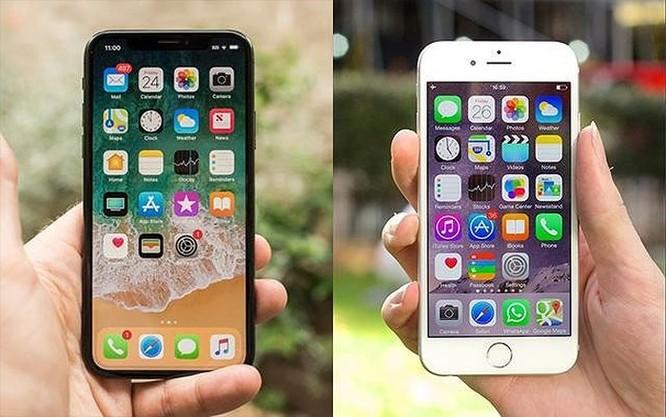 Thiết kế iPhone thay đổi như thế nào từ iPhone 6 đến iPhone X ảnh 1