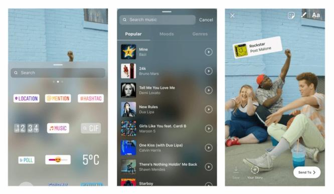 Instagram sắp sửa cho phép lồng bài hát vào Stories ảnh 2