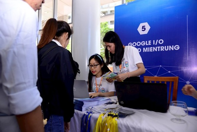 Google I/O Extended miền Trung 2018: Thu hút hơn 400 lập trình viên và sinh viên CNTT ảnh 1