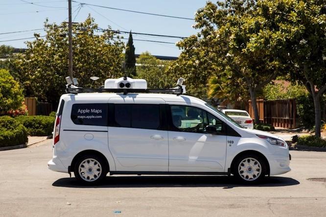 Apple sẽ cải tổ toàn diện Apple Maps với sự trợ giúp của...xe Van ảnh 5