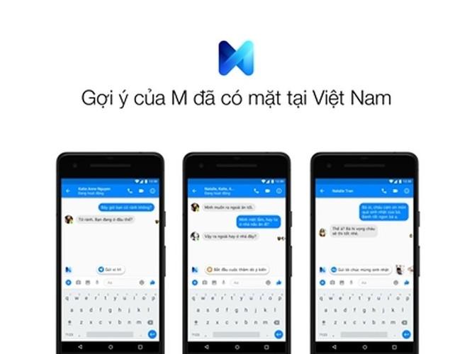 Facebook Messenger ra mắt tính năng gợi ý M cho người dùng tại Việt Nam ảnh 1