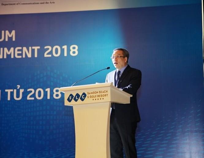 Khai mạc hội nghị quốc tế về Đô thị thông minh và Chính phủ điện tử 2018 ảnh 1