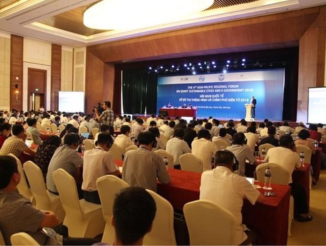 Khai mạc hội nghị quốc tế về Đô thị thông minh và Chính phủ điện tử 2018 ảnh 2