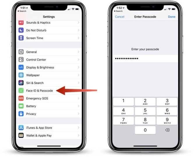 Hướng dẫn tắt/bật tính năng bảo mật mới toanh trên iOS 12 ảnh 2