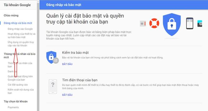 Làm gì để người khác không đọc trộm Gmail của bạn? ảnh 2