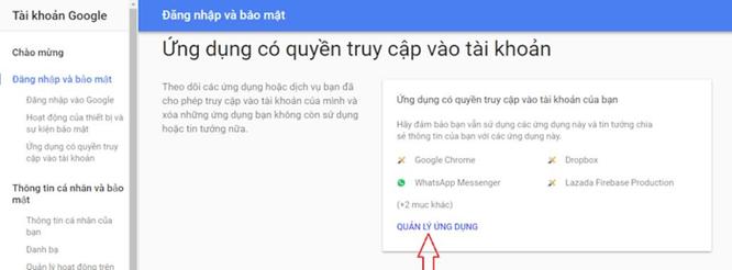 Làm gì để người khác không đọc trộm Gmail của bạn? ảnh 3