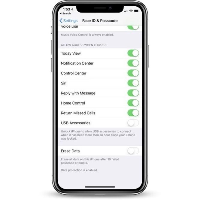 Hướng dẫn tắt/bật tính năng bảo mật mới toanh trên iOS 12 ảnh 3